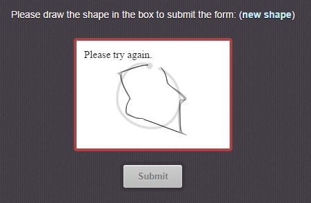 Impossible Captcha