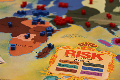 Risk: The Game of World Domination